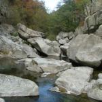 Les gorges de Chassezac, Ardèche, à découvrir